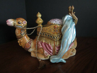 Fitz And Floyd Nativity Resting Camel Figure 19/207 With Box