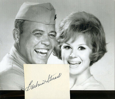 Barbara Stuart Andy Griffith Show & Gomer Pyle Actress Signature & In Role Photo