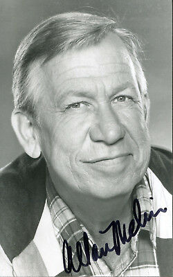 Allan Melvin Andy Griffith Show Villain Signed Photo