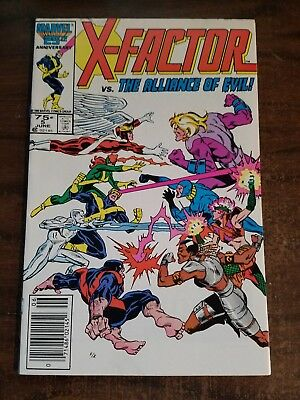 X-FACTOR  5 1986 1st Cameo Appearance of Apocalypse VF Newsstand Warehouse Find
