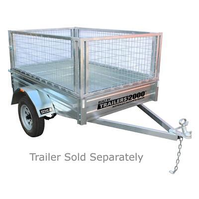 Trailers 2000 6 x 4ft Galvanised Trailer Cage