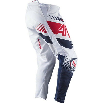 2017 Answer Syncron White/Red Pants adults