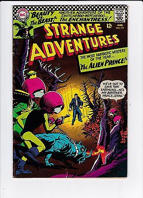 DC Strange Adventures #191 2nd Enchantress VG (4.0) FREE SHIPPING