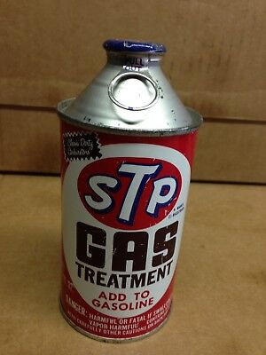 VINTAGE 1974  NOS STP gas treatment FULL DOME TOP can 12 fl oz Collector USA
