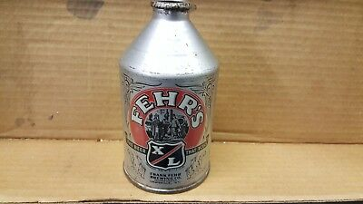 Fehrs crowntianer cone top beer can Louisville Kentucky bar restaurant display