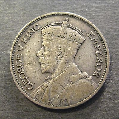 1933  New Zealand Shilling - Silver -* No Reserve * - (S409)