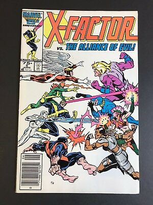 X-Factor No. #5 1st First Cameo Appearance Apocalypse - 1st Alliance of Evil