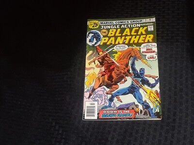 Jungle Action Featuring The Black Panther #22 1976 Marvel - FN/VFN