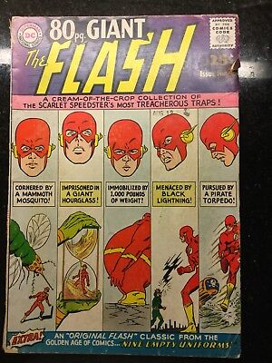 The Flash 80 Page Giant Magazine #4 (Oct 1964, DC)