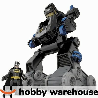 Fisher Price Imaginext DC Super Friends R/C Transforming Batbot