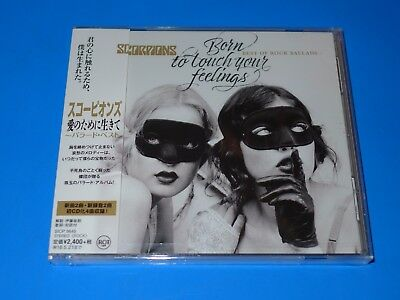 Japan Scorpions Born To Touch Your Feelings Best Of Rock Ballads Cd New Tracks