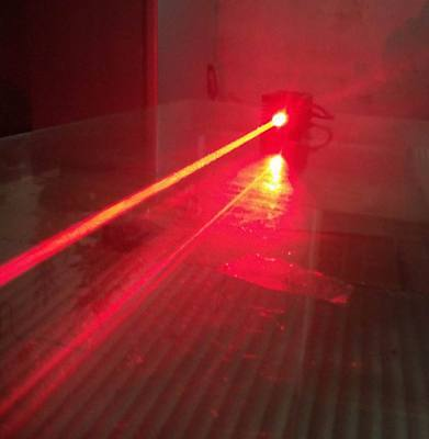Focusable real 1000mw 638nm Orange Red Laser Module with TTL power supply