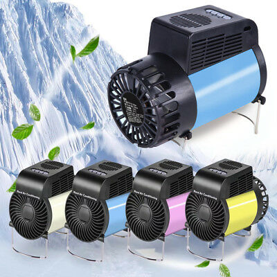 Rechargeable Portable Handheld Table Cooling+Heating Fan Air Conditioner 4 Color
