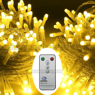 Remote Control 500 LED String Fairy Light Chirstmas Party Garden Wedding Outdoor