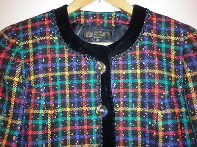 Vintage Hardy Amies 2 Piece Wool Suit Size 10 Excellent Condition