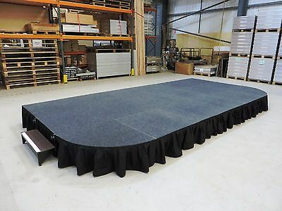 6m x 3m Portable Stage, Modular Stage System, School Indoor/Outdoor Staging