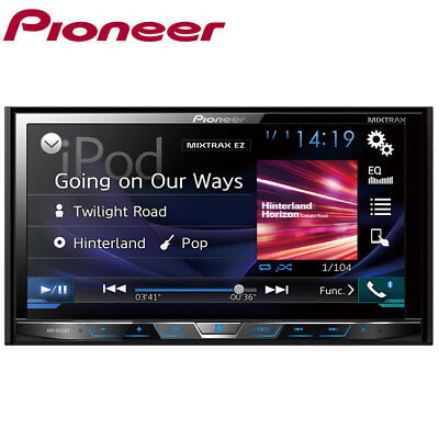 """PIONEER AVH-X595BT 7"""" WVGA MIXTRAX Double DIN Bluetooth Car CD DVD Stereo Player"""
