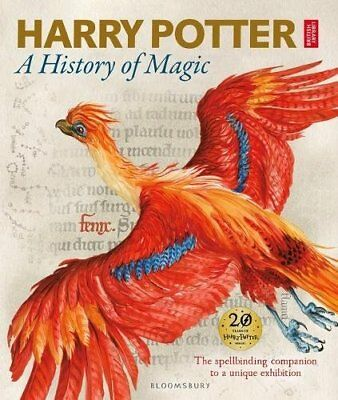 Harry Potter -A History of Magic: The Book of the Exhibition- New Hardcover Book