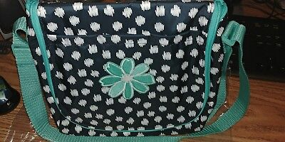 Thirty One Going Places Thermal Navy Doodle Dot with Icon Daisy