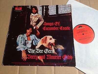 The Bee Gees - Barry Und Maurice Gibb - Songs Of Cucumber Castle - Lp - Club