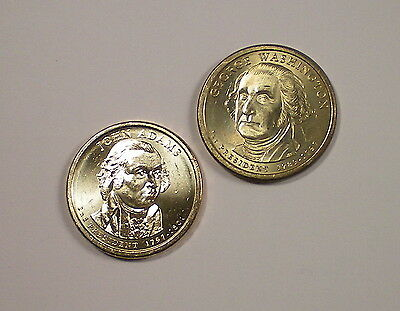 2007 George Washington Smooth Edge  + John Adams Double Edge Letter  Error Set