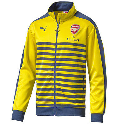 Puma Arsenal FC T7 Anthem Fly Emirates 2014/15 Boys Jacket 746936 03 Op D118