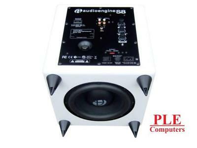 Audioengine S8 Powered Subwoofer - Gloss White[S8W]
