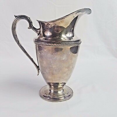Vintage Silver Plated Pitcher Pot 3 1/2 Pint International Silver Company 685