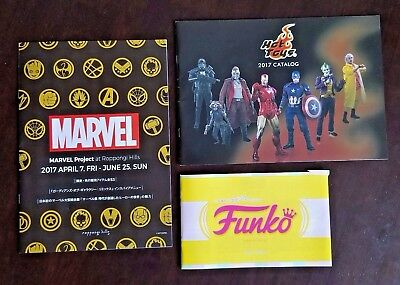 MARVEL PROJECT 2017 at ROPPONGI HILLS JAPAN IMPORT EXCLUSIVE + HOT TOYS FUNKO
