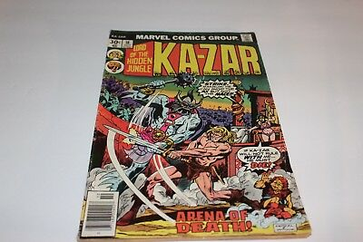 Marvel Comics  Kazar Issue #18