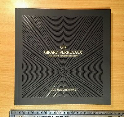 GIRARD-PERREGAUX Fine Watch Timepiece 2017 Creations Catalogue + Price List  New