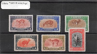 Lot of 54 Liberia MNH Mint Never Hinged & MH Mint Hinged Stamps #105064 X R