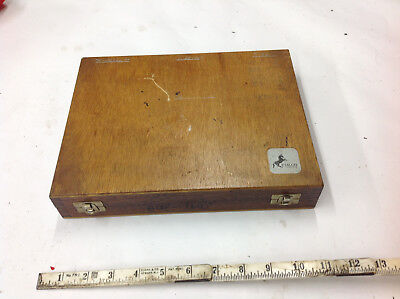 EMPTY Etalon 4-Place Internal Bore Gauge Storage Box with 2- Gage Masters.  USED