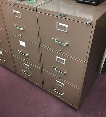 USED Metal 3 Drawer Filing Cabinet No Key local pick up only
