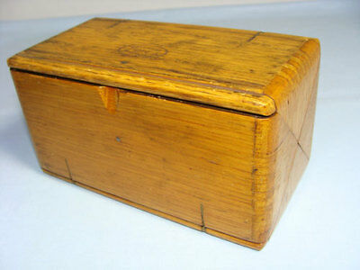 Antique 1889 Expanding Oak Sewing Box with Lots of Attachments, Singer, Treadle