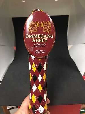 Ommegang Brewery Abbey Ale Beer Tap Handle
