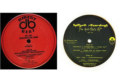 "2 x Electro 12""-Direct Beat,Spelunk Recordings"