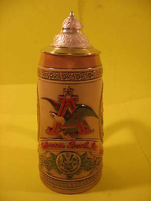 Anheuser Busch - Collector Stein - New In Original Box - Free Shipping