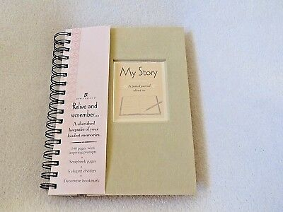 My Story, A Guided Journal About Me, A Cherished Keepsake, 140 Pages. Nice Gift