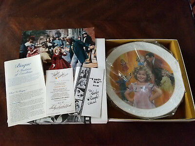 """Shirley Temple Collector's Plate """"Curly Top"""" NIB"""