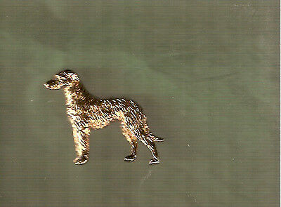 Deerhound Gold Plated Brooch Pin Jewelry LAST ONE!