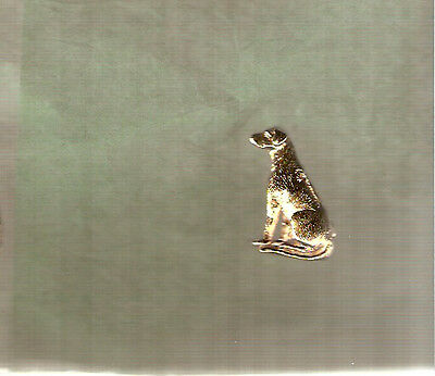 Rhodesian Ridgeback Gold Plated Brooch Pin Jewelry LAST ONE!