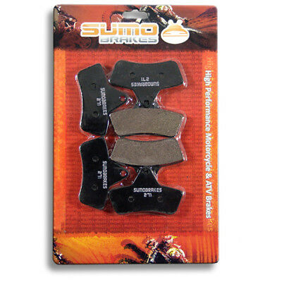 Arctic Cat F+R Brake Pads 250 300 375 400 (1998 1999 2000 2001 2002 2003 2004)