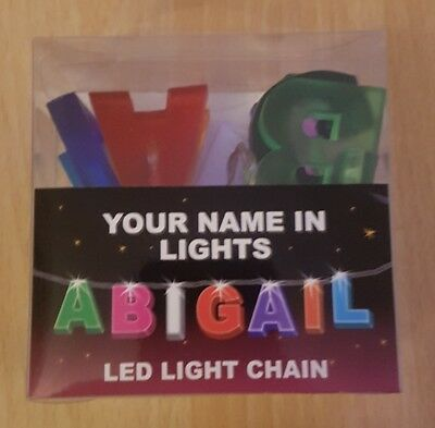 """Abigail"" led light chain"