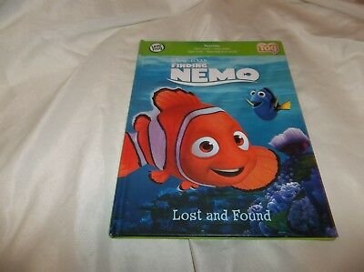 Finding Nemo Lost And Found Leapfrog Tag Reader Book. Hardcover