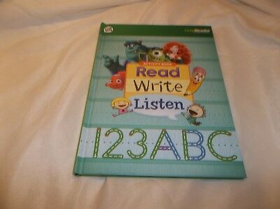 Leapreader Read Write Listen 123 Abc Hardcover Very Good Condition