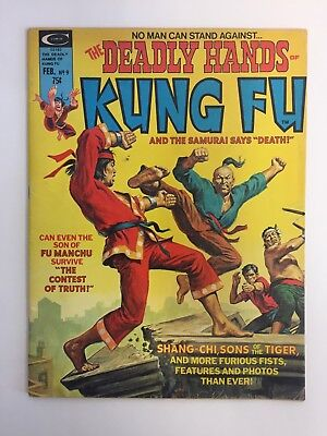 The Deadly Hands Of Kung Fu #9 (1974) Curtis Lower-Grade Copy
