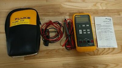 Fluke 715 Volt/mA calibrator - great working condition