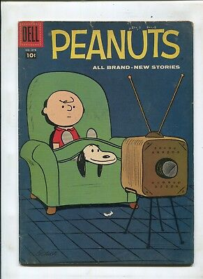 Dell Four Color #878 (4.5) Early Peanuts By Schultz