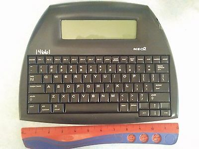 Neo2 Alphasmart keyboard - distraction free word processor.  Very cool